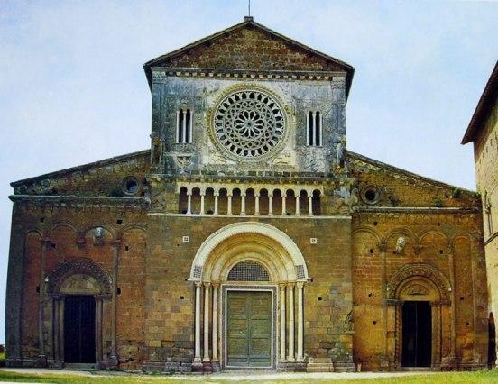3 Tuscania - Chiesa di San Pietro