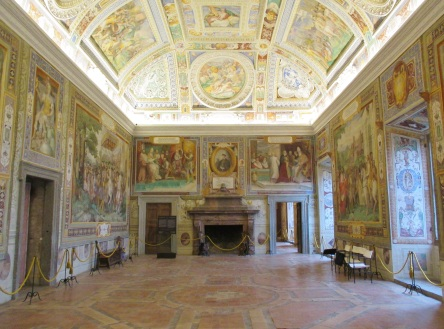 Caprarola_-Villa_Farnese,_sala_dei_Fasti_Farnesiani-