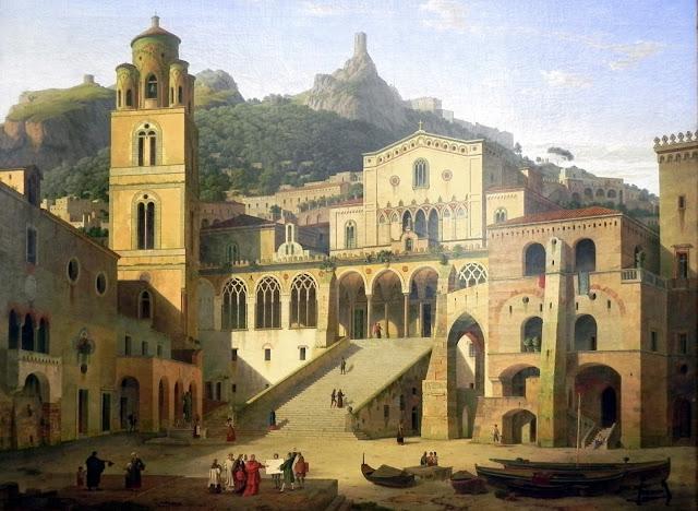 La_città_medievale_di_Amalfi_nel_XVII_secolo